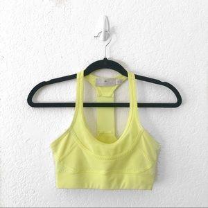 Stella McCartney x Adidas Yellow Sports Bra